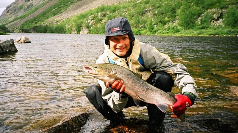 места для ловли лосося